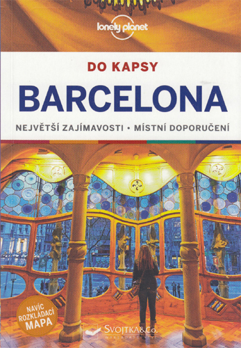 Lonely planet - Barcelona do kapsy